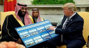ترامب ومحمد بن سلمان