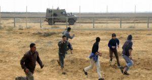 الاحتلال يستهدف شرق حي الزيتون