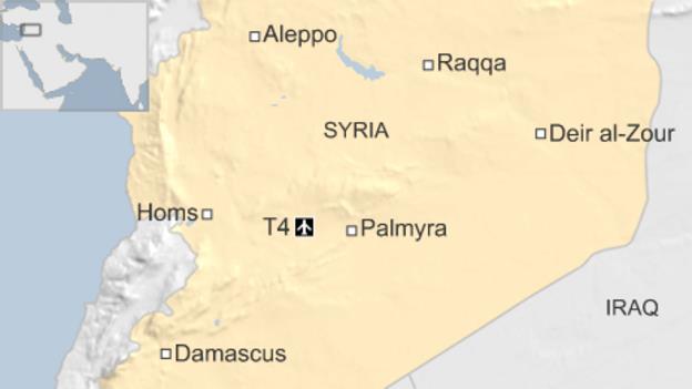 مطار التيفور العسكري في محافظة حمص