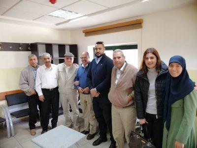 متضامنين مع د.عادل سمارة في المحكمة
