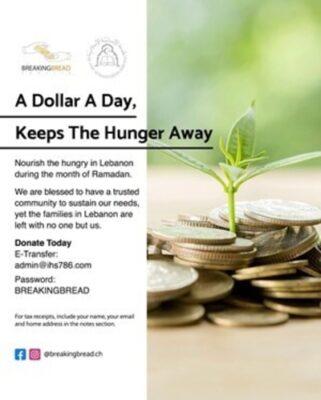 ادفع دولارًا واحدًا في اليوم